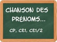 Chanson des prenoms 2